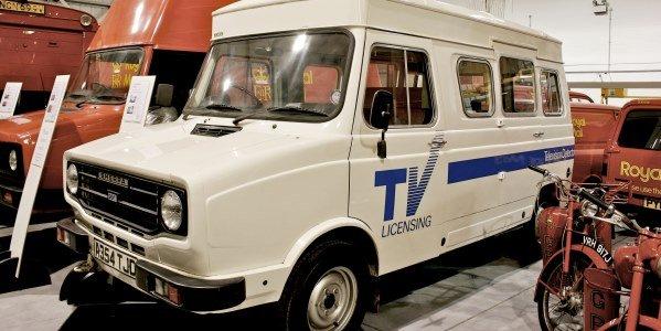 Inside a TV Licence Detector Van
