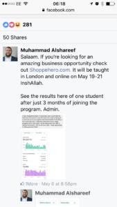 Muhammad Alshareef Visionaire Online Program